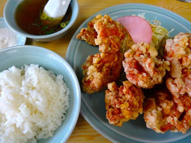 中華料理 八宝飯店 唐揚定食 広島市南区上東雲町