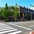 呉市中央図書館 呉市中央3丁目 蔵本通り 五月橋西詰交差点