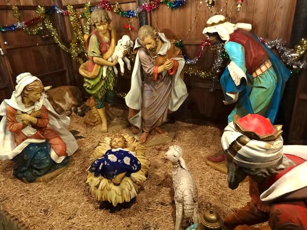 世界平和記念聖堂 Memorial Cathedral for World Peace クリスマスクリブ Nativity scene crib 広島市中区幟町