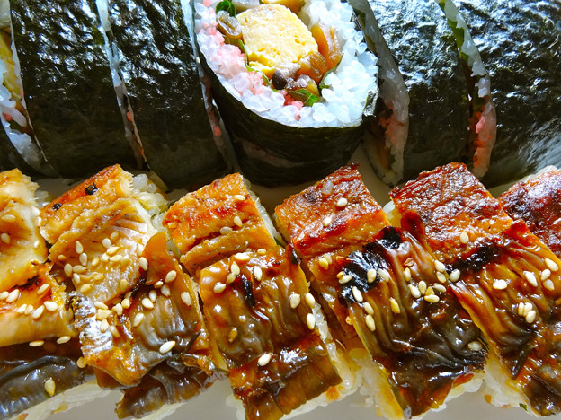 はまもと惣菜店 あなご寿司 巻き寿司 広島市南区上東雲町