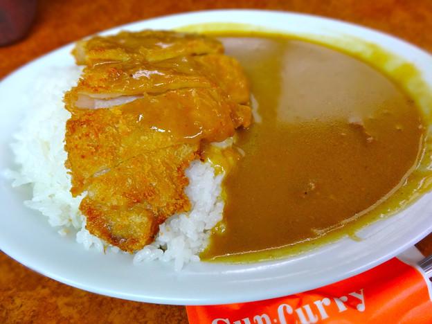 サンカレー Sun Curry とんかつカレー 広島市中区堀川町 広島金座街商店街