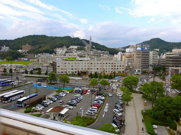 JR 広島駅 北口 新幹線口から二葉山方向 広島市東区二葉の里 - 光町 - 若草町