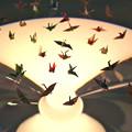 広島平和記念資料館 本館 佐々木禎子 折り鶴 Hiroshima peace memorial museum main building 広島市中区中島町 平和記念公園