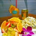Hawaiian Pancake Factory ハワイアンパンケーキファクトリー イオンモール広島府中店 tropical fruit トロピカルフルーツ ハワイアン 安芸郡府中町大須