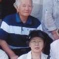 妻美津子と2