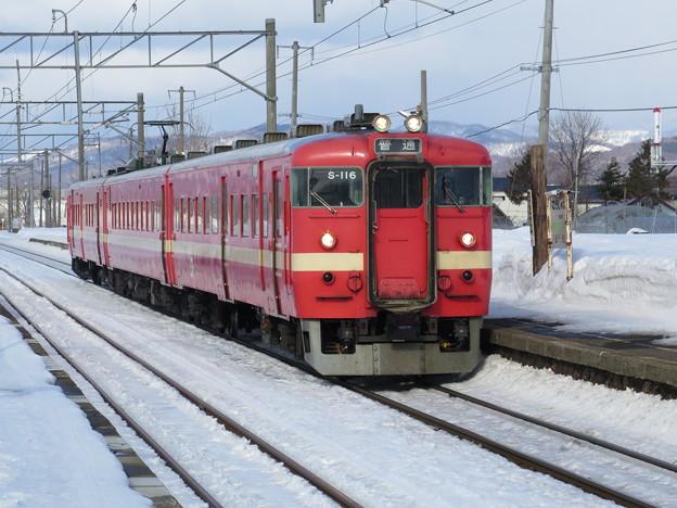 【今日の一枚】711系の3扉改造車@函館本線光珠内駅