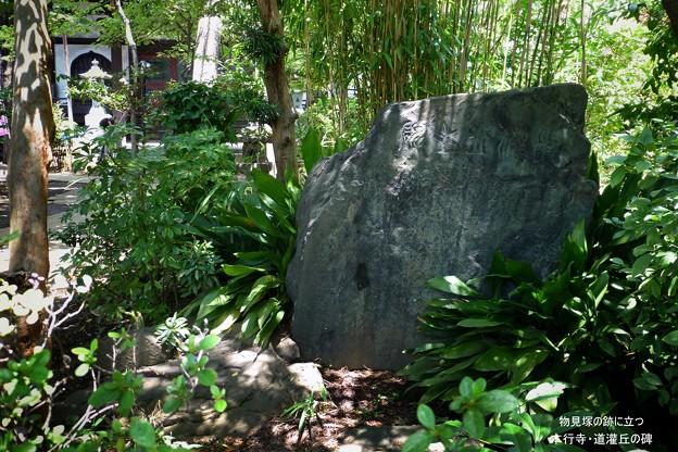 道灌丘の碑