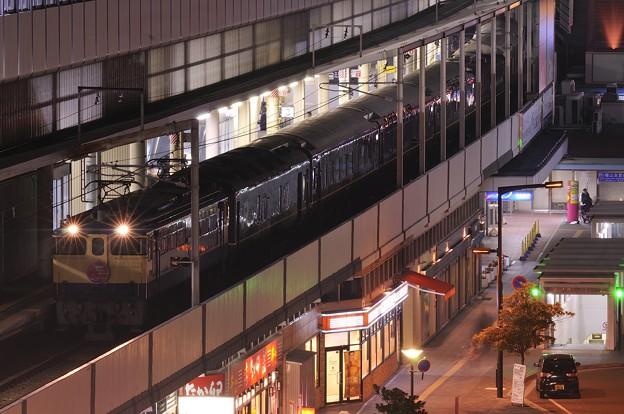 トワイライトエクスプレス 福山駅停車