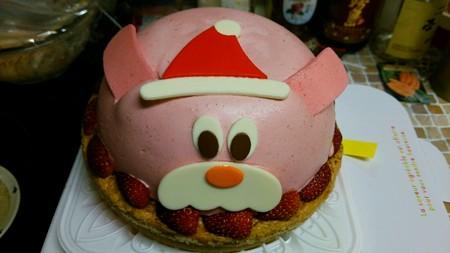 今年のケーキは熊さん♪
