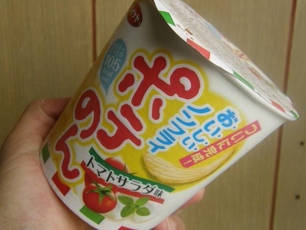 ポテのん トマトサラダ味 パッケージ
