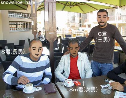 Boumhelのカフェ・かつての姿