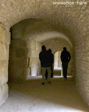 闘技場の廊下