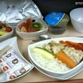 Photos: チュニス→ドバイ 特別食(bland meal)