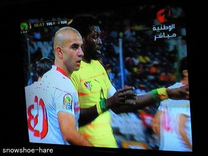 サッカー チュニジアvsトーゴ