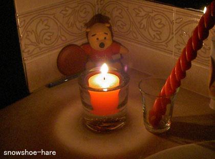 ハイ、停電です・・・