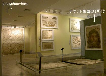 スース考古学博物館内