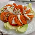 トマト&モツァレラサラダ