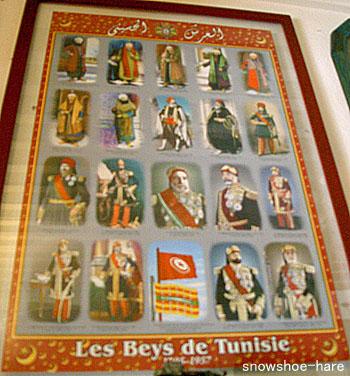 チュニジアの歴代ベイ