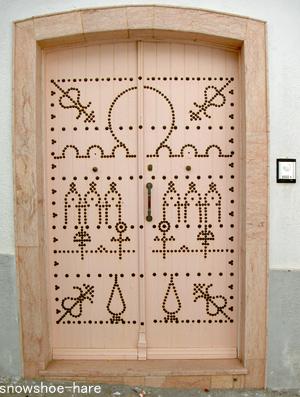 チュニジアの扉:ピンクだよ~