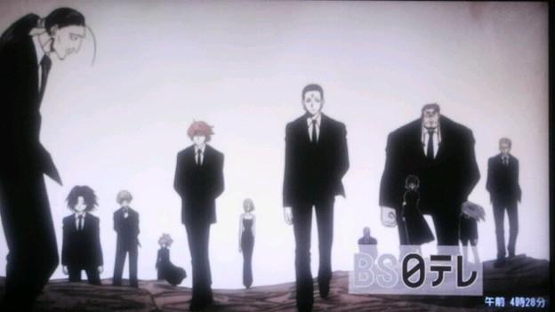 スーツ幻影旅団いいな~ ウ.