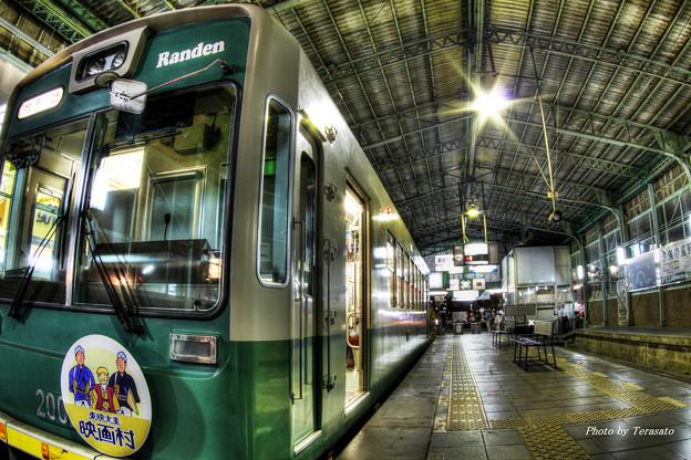Photos: 嵐電北野白梅町駅2