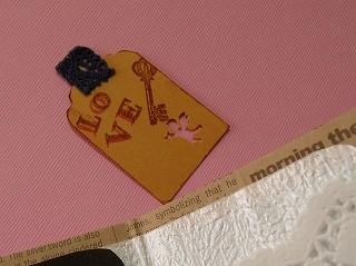 百均材料でカード! (4)