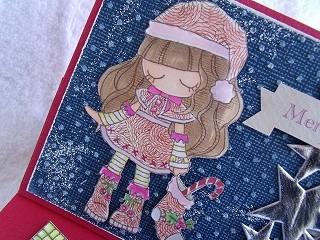 JPAスタンプでクリスマスカード4