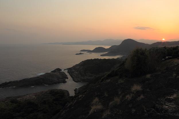 クルスの海夕暮