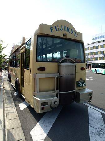 河口湖駅にて(3)