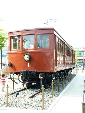 河口湖駅にて(23)