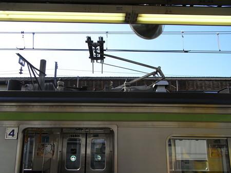 205系横浜線シングルパンタ