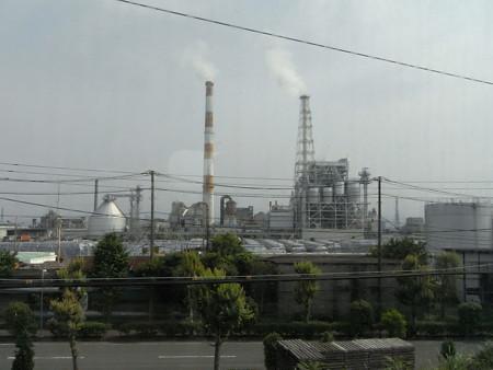 700系東海道新幹線からの車窓(新富士界隈)
