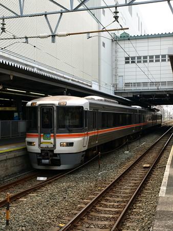 373系特急伊那路1号(豊橋駅)2