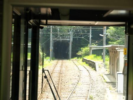 313系飯田線の車窓(小和田駅)