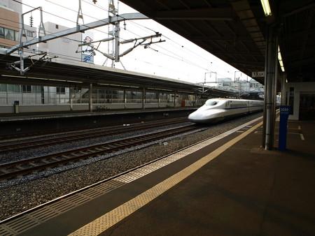 N700系(豊橋駅)