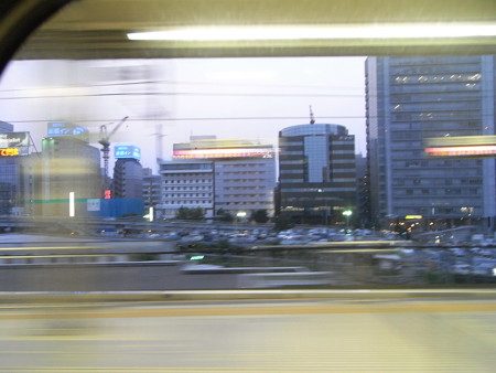 300系車窓(新横浜界隈)