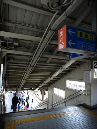 富山駅跨線橋