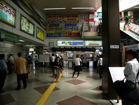 富山駅改札口3