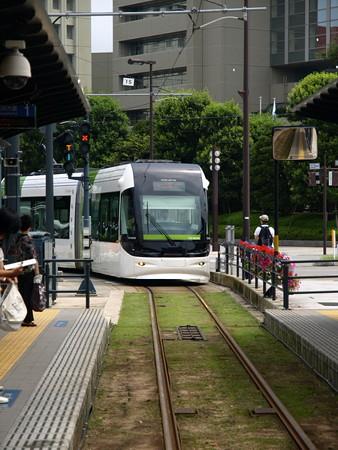 ポートラム(富山駅北電停)1