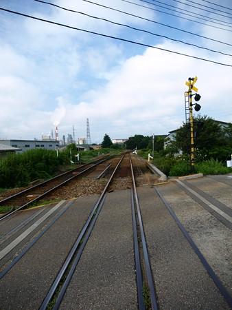 能町駅構内3