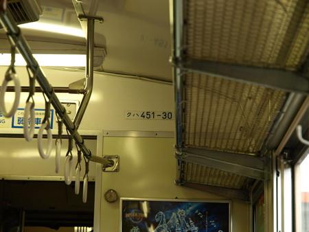 451系車内1