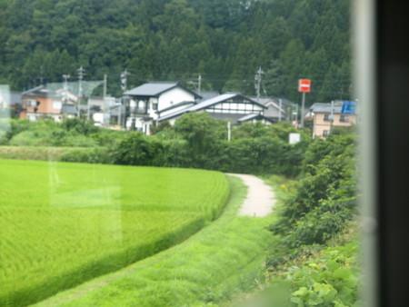 のと鉄道車窓(西岸駅→能登中島)4
