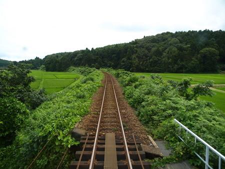 のと鉄道車窓(能登中島→西岸)8