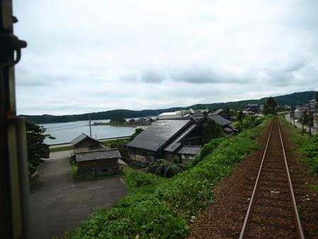 のと鉄道車窓(西岸→能登鹿島)4
