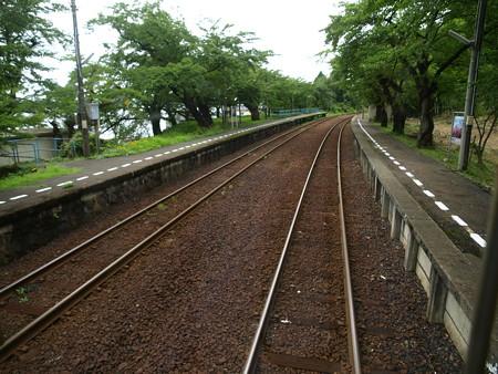 のと鉄道車窓(能登鹿島→穴水)1