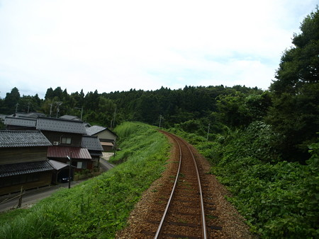 のと鉄道車窓(能登鹿島→穴水)7
