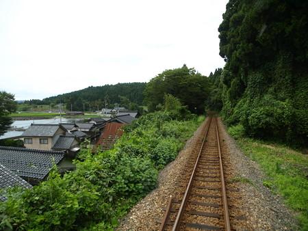 のと鉄道車窓(能登鹿島→穴水)8