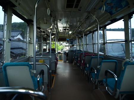 北鉄奥能登バス車内