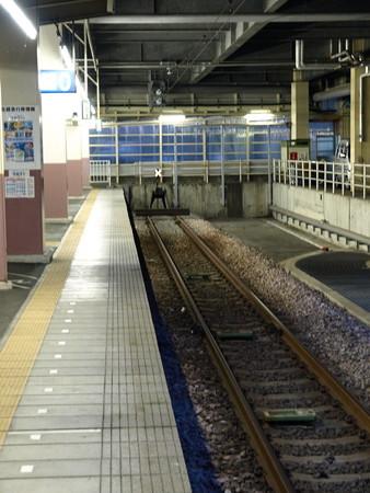 北越急行ホーム(越後湯沢駅)