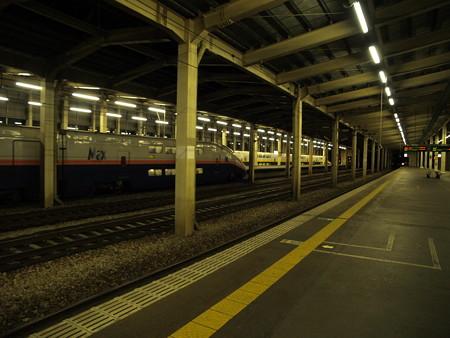 E1系とE4系(越後湯沢駅)